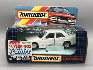 Matchbox Superkings K-115 Mercedes 190E 2.3 16v Boxed
