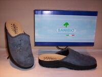 Sanibio ciabatte pantofole chiuse comode uomo invernali da casa grigie slippers