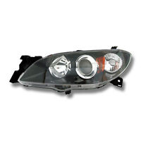 Fits 2004-2009 Mazda 3 Sedan Driver Left Side Headlight Lamp Assembly LH