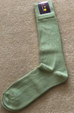 NWT VK Nagrani Men's Luxury Socks Over Calf One Size Fits Most Light Thyme Green