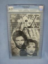 X-Files Ashcan #1 (Jan 1995 Topps) CGC 9.2 WHITE PAGES Star Wars Galaxy Exclusiv