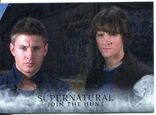 Supernatural Seasons 1-3 Base Card Parallel Mega Moon Lava 01 Title Card