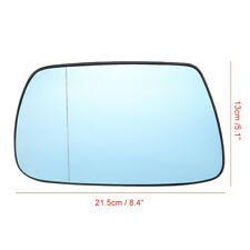 For Jeep Grand Cherokee 2005-10 Left Side Heated Door Wing Mirror Glass w/ Plate