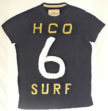 "Hollister Short Sleeve Blue T-Shirt  ""H.C.O 6 Surf ""     L         K#8770"