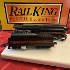 Rail King MTH Electric Trains Norfolk Western 4-8-4 J Northern Steam Engine New