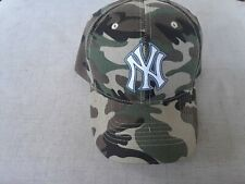 NEW YORK  Yankees    MLB CAMOUFLAGE  HAT ONE SIZE FITS ALL.