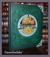 Monsterology Monstrous Creatures Beasts Illustrated New Large Hardcover Gift