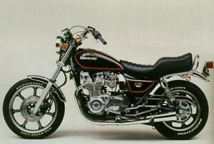 KAWASAKI KZ1000J LTD KZT00J 1981-1986 REAR STAINLESS BRAIDED BRAKE KIT KZ GPZ