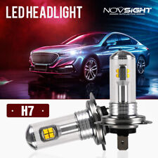 NIGHTEYE Pair H7 160W LED Fog Light Bulb Headlight 6000K Daytime White DRL Xenon