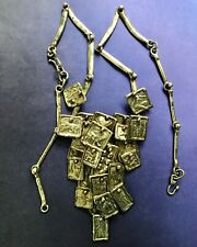 Vintage PAL KEPENYES Bronze Zodiac Neclace With Extra Chain! Artisan