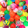 10pcs Colorful Bouncy Jet Balls Birthday Party Loot Bag Toy Fillers Fun For Kid