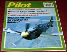 Piloto 1989 Mayo Buchon Me109, Marco J5, Robin