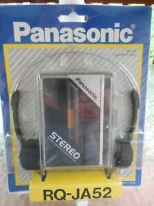 NOS! Vtg Panasonic RQ-JA52 Stereo Personal Portable Cassette Tape Player Walkman