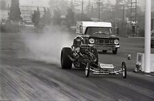 Don Garlits Wynn's Charger Front Engine Dragster - Original 35mm Race Negative