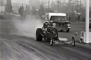 Don Garlits Wynn's Charger Front Engine Dragster - Original 35mm Race Negative