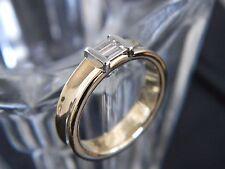 18CT YELLOW & WHITE GOLD TIFFANY & CO. DIAMOND RING