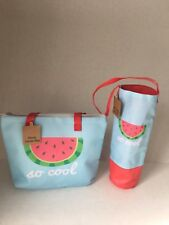 Thermal Lunch Tote Picnic Cooler Bag & Wine Bag