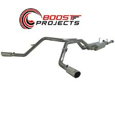"MBRP 2.5"" Cat Back Dual Exhaust System 07-09 Toyota Tundra 4.7L/5.7L V8 S5306409"