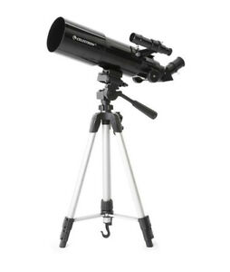Celestron Travel Scope 80 with Backpack and Smartphone Adapter