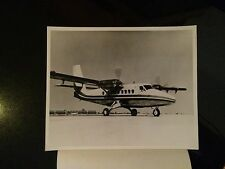 De Havilland Stol 200 Twin Otter Helicopter At Stardust News Release Photo 1968