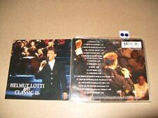 Helmut Lotti Goes Classic 2 - 1999 cd + Inlays are Excellent condition