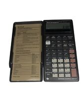 Vtg Texas Instrument Business Calculator Ba Ii Plus Financial Works 1991