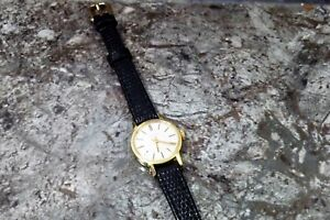 RARE LONGINES VINTAGE LADIES MECHANICAL GOLD PLATED WATCH FULLY SERVICED