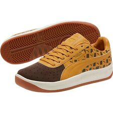 Puma Men's GV Special Lux Leather Casual Sneakers Shoes Tan/Brown Size 9.5