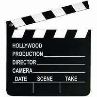 7X8 hollywood movie clap board prop ACTION director camera scene take toy film