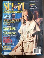 Sci Fi Autographed Magazine