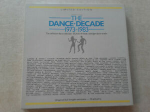 THE DANCE-DECADE 1973-1983 THE DEFINITIVE DISCO COLLECTION(BOX MIT 14 LP´S)