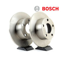 BOSCH REAR BRAKE ROTOR X2 FOR SUZUKI SWIFT SPORT