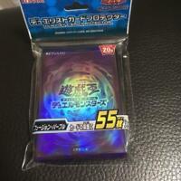 NEW Yu-Gi-Oh Duelist Card Sleeve/Protector 55pcs Fusion Purple Japanese