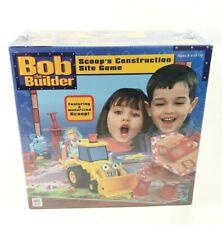 Bob the Builder Game Milton Bradley Scoop's Construction Site Creative Fun New