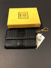 NWT Fendi Wallet Women Black Color, Canvas, New With Tags and Box