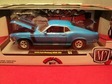 M2 Machines 1970 Ford Mustang Boss 302 NIB 1:24 Scale 1/5,880  made 2019 release