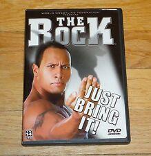 2002 WWF WWE Wrestling DVD The Rock Dwayne Johnson Just Bring It