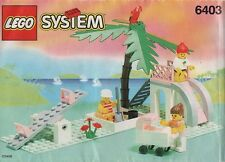 Lego Town Paradisa 6403 PARADISA PLAYGROUND  New SEALED - Ships World Wide