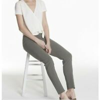 $199 Avenue Montaigne •Women 0• BILLY ANKLE PULL ON Stretch Pants Taupe