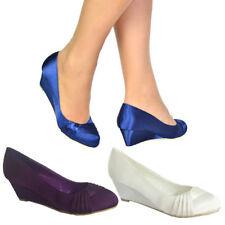 Satin Unbranded Standard (D) Width Heels for Women