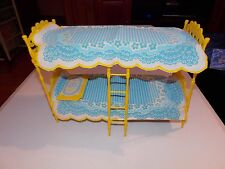Barbie Friend Skipper Bunkbed Bunk Bed Set Rare Pillow Comforter Vintage 1964