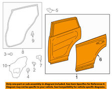 TOYOTA OEM 13-14 RAV4 Rear Door-Shell Frame Panel Right 6700342160
