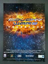 Colony Wars - Vengeance - Playstation Video Game Magazine Advert #B4062