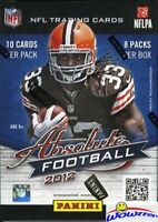2012 Panini Absolute Football EXCLUSIVE Factory Sealed Blaster Box !!