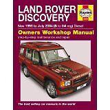 HAYNES SERVICE & REPAIR MANUAL Land Rover Discovery Diesel Nov 98 - Jul 04 4606