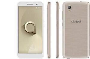 "Alcatel 1 5033X 8GB 4G  8GB 5"" Unlocked Android Smartphone Gold-white (A+ Grade)"