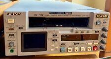 SONY DSR-45 DVCAM DV/Mini DV PROFESSIONAL video editing deck