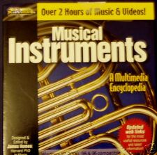 Musical Instruments Learn Cdrom Computer Software New