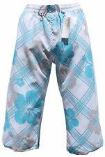 Bermuda Cargo Pantaloncini Da Bagno Costume Da Bagno Bianca Blu 3/4 in S M L XL XXL XXXL 2xl 3xl