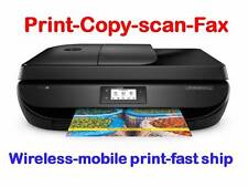 NEW HP OfficeJet 4655/4650 Wireless Printer-scan-copy-Fax+LCD+ink Included